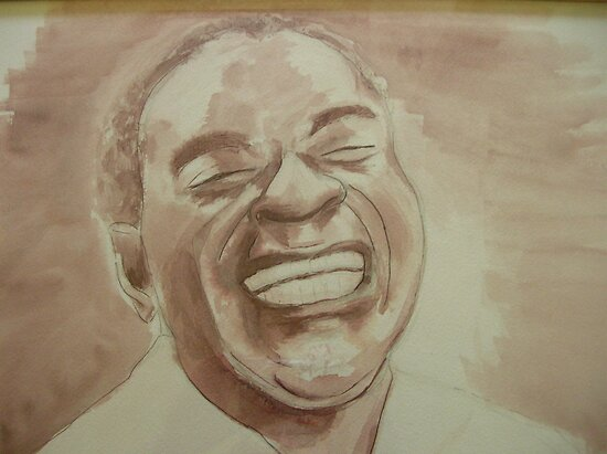 Louis Armstrong by Pam Wilkie