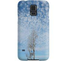 Cypress Under a Popcorn Sky Samsung Galaxy Case/Skin
