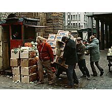 """A Helping Hand"", Covent Garden Market, London, 1973. Photographic Print"