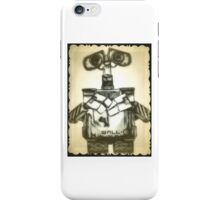 Wall-E drawing iPhone Case/Skin