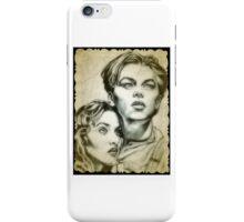 Titanic drawing iPhone Case/Skin