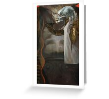 Iron Bull Tarot Greeting Card