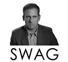 Steve Carell Swag Photographic Print