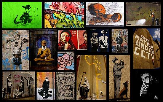 Banksy & Friends by Kiwikiwi
