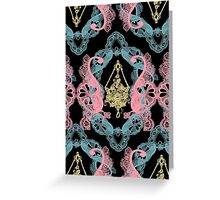 Delicate Jewel Two Greeting Card