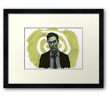 Rust Cohle - True Detective Framed Print