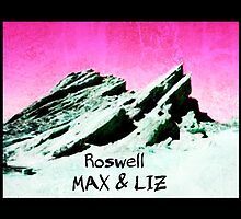 roswell tv show pink sky Max & Liz by shesxmagic