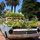 A Blooming Old Car by lezvee
