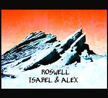 roswell tv show Orange sky Isabel & Alex by shesxmagic