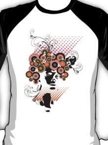 Dollie :: Funky Bloom Hair T-shirt T-Shirt