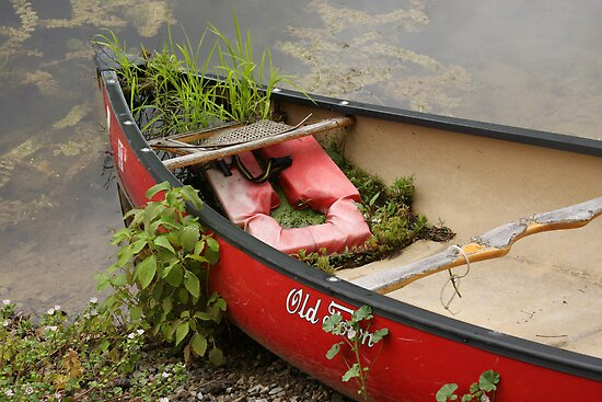 Red Canoe by CarolM