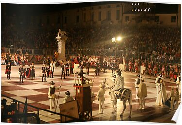 Marostica Chess Game by Sue Ellen Thompson