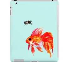 Cicada and Goldfish iPad Case/Skin