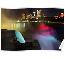 Niagara Falls - Night Poster