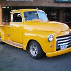 48 GMC Yellow Pick up by kodakcameragirl