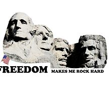 Mt. Rushmore Freedom Appreciation by DrunkleSam