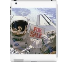 Space Shuttle For Sale iPad Case/Skin