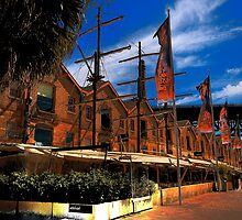 Convict Built - The Rocks , Sydney - The HDR Series by Philip Johnson