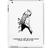 Dead Bird - It's very confusing.  iPad Case/Skin