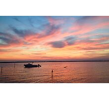 Sunset on the Bay Photographic Print