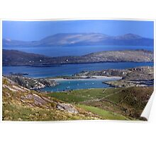 Derrynane Bay County Kerry Ireland Poster