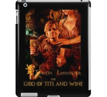 Game of thrones Tyrion Lannister Wine God iPad Case/Skin