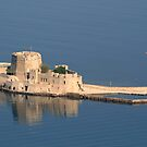 Bousdri, the harbour fortress protecting Nafplion by DRWilliams
