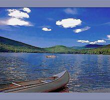 Stinson Lake NH, USA by George  Link