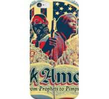 Blakk Amerika - From Prophets to Pimps iPhone Case/Skin