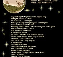 For Angels Sing On High Version 1 by Amber Elizabeth Fromm Donais