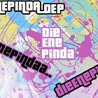 DieEnePinda With paint spatters, And Gta Font, by DieEnePinda