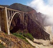 Bixby Creek Bridge in Big Sur by Mark Ramstead