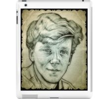 Anthony Michael Hall drawing iPad Case/Skin