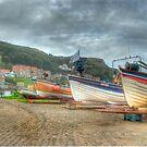 Fishing boats by WhartonWizard