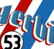 Herbie 53 Sticker