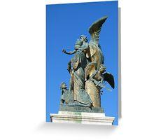 Sculpture, Monumento Nazionale a Vittorio Emanuele II, Rome Greeting Card