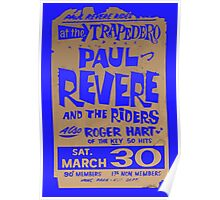 Paul Revere and the Raiders at the TRAPEDERO Poster