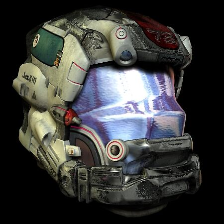 HELMET PROTOTYPE by Michael Beers