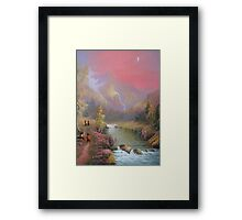 Hobbits Adventure (No Time For A Pipe) Framed Print