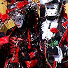 Black King & Queen of Hearts by VeniceCarnival