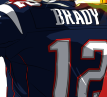 Tom Brady  Sticker