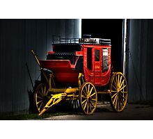 Wagons HO! Photographic Print