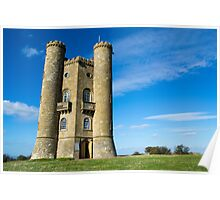 Broadway Tower in the Cotswolds Poster