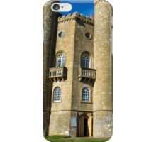 Broadway Tower in the Cotswolds iPhone Case/Skin