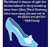Cinderella Got Her Prince  Photographic Print