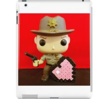 Rick Grimes Valentines iPad Case/Skin