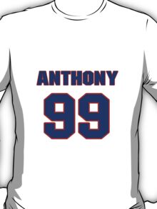 National football player Anthony Cannon jersey 99 T-Shirt
