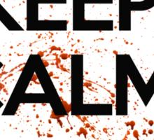 Keep Calm And Trickshot ! Sticker