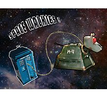 Space Walkies! Photographic Print