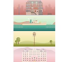 A 'Wes Anderson' Collection Poster Print Photographic Print